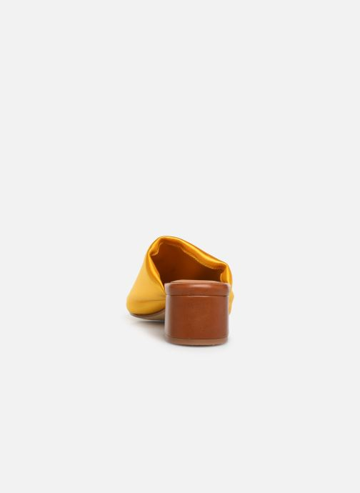 Mules & clogs Miista CATERINA Yellow view from the right