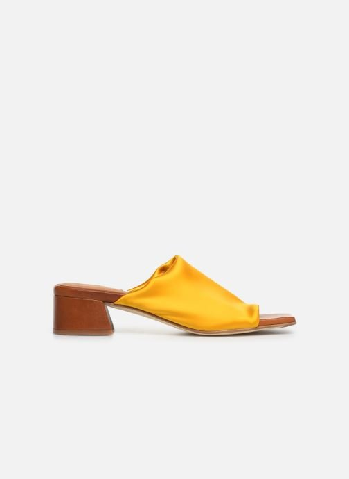 Mules & clogs Miista CATERINA Yellow back view