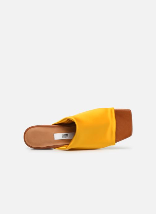 Mules & clogs Miista CATERINA Yellow view from the left