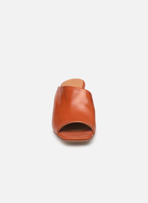 Mules et sabots Miista ALBARCA Orange vue portées chaussures
