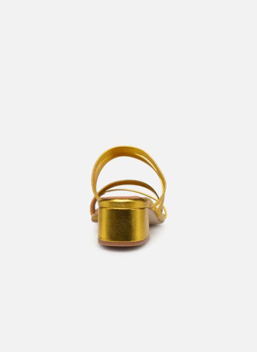 Zoccoli Miista EVA Oro e bronzo immagine destra