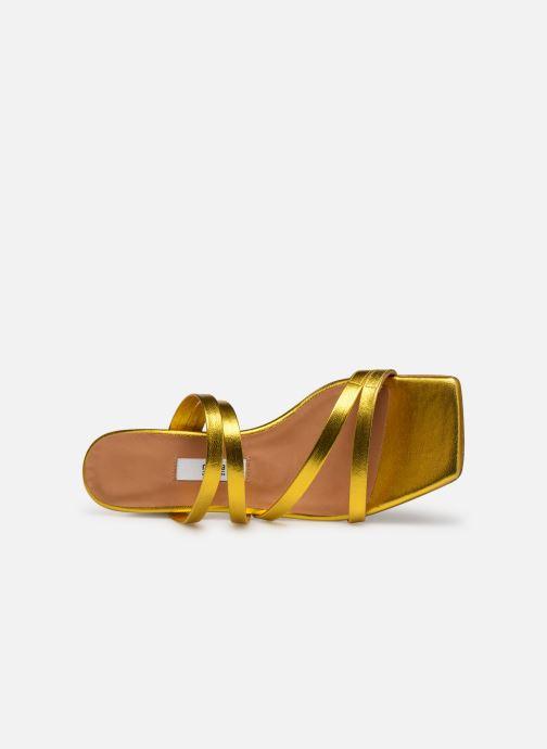 Zoccoli Miista EVA Oro e bronzo immagine sinistra