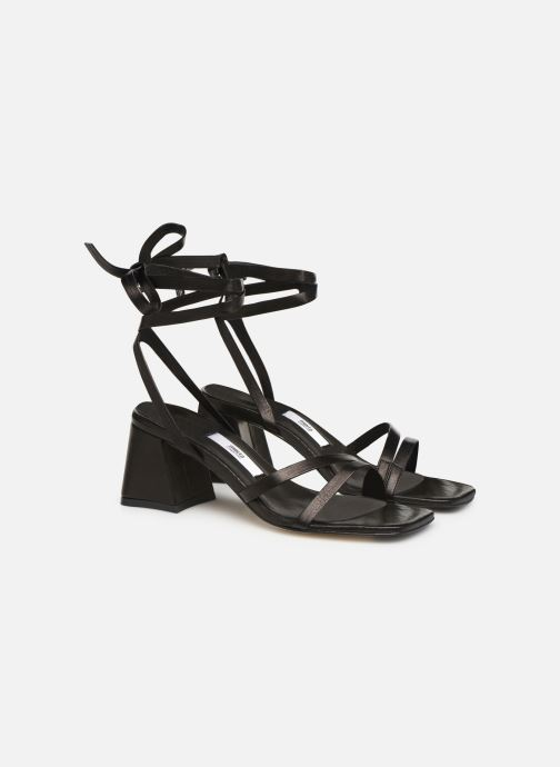 Sandals Miista QUIMA Black 3/4 view