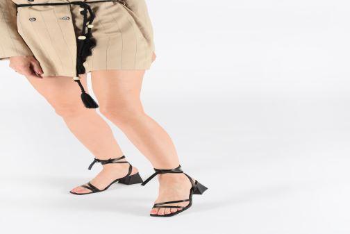 Sandales et nu-pieds Miista QUIMA Noir vue bas / vue portée sac