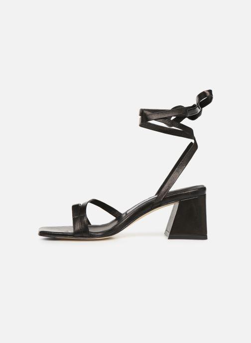 Sandales et nu-pieds Miista QUIMA Noir vue face