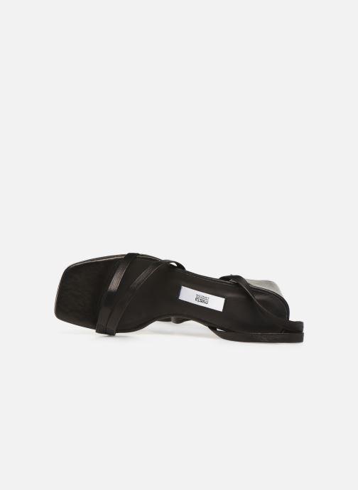 Sandales et nu-pieds Miista QUIMA Noir vue gauche