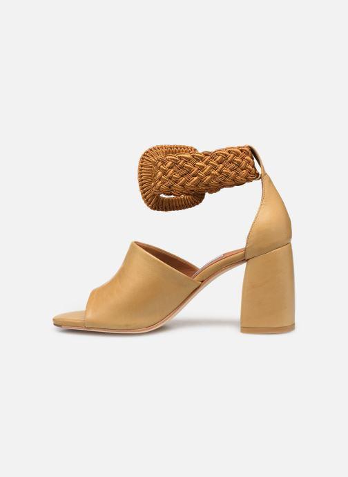 Sandales et nu-pieds Miista ADA Beige vue face