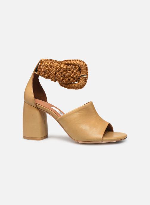 Sandales et nu-pieds Miista ADA Beige vue derrière