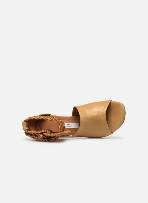 Sandales et nu-pieds Miista ADA Beige vue gauche