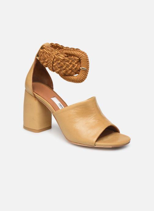 Sandales et nu-pieds Miista ADA Beige vue détail/paire