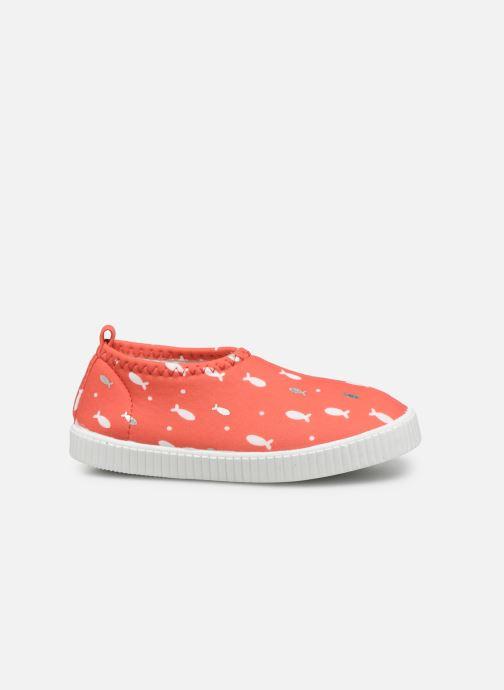 Baskets Archimède Ocean Girl Shoes Rouge vue derrière