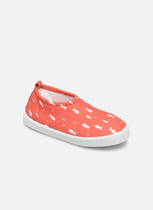 Baskets Archimède Ocean Girl Shoes Rouge vue détail/paire