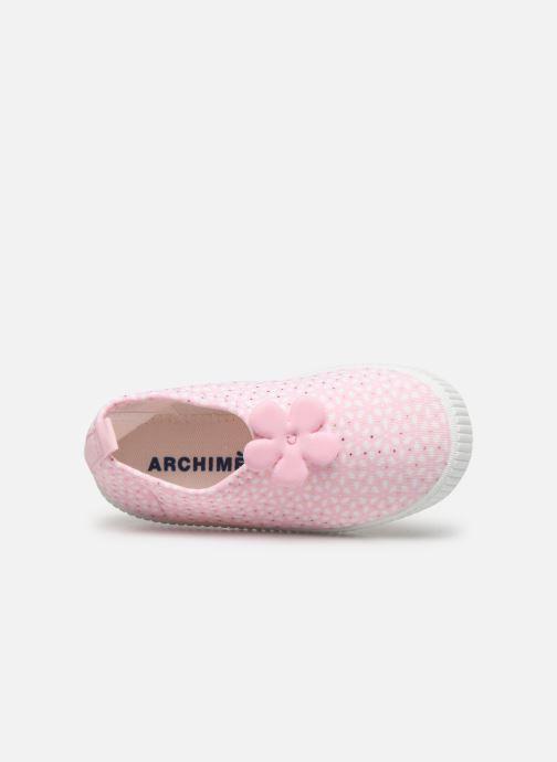 Sandales et nu-pieds Archimède Cocon Girl Shoes Rose vue gauche