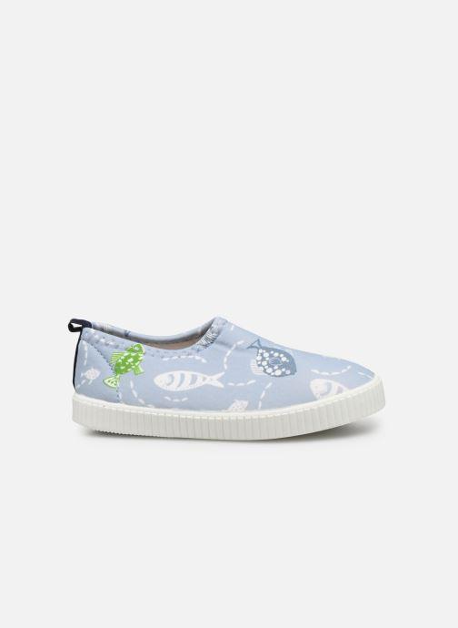 Sandales et nu-pieds Archimède Pacific Shoes Bleu vue derrière