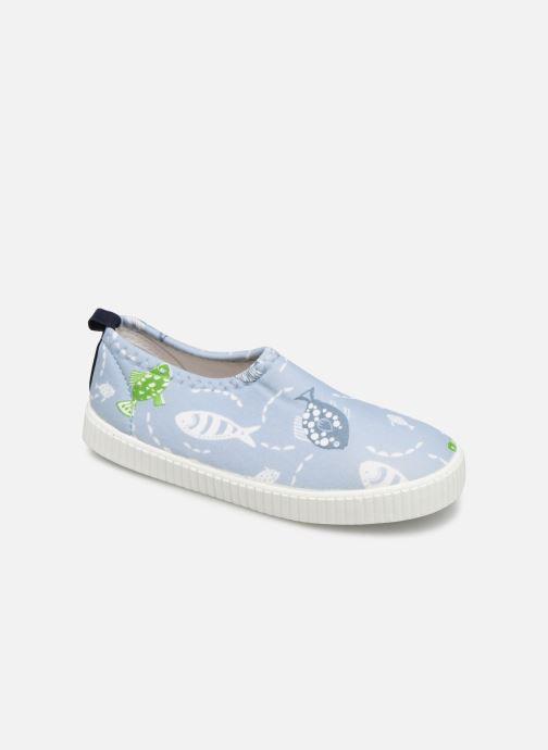 Sandales et nu-pieds Archimède Pacific Shoes Bleu vue détail/paire