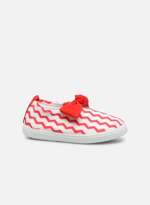 Sandales et nu-pieds Archimède Julie New Chaussures Rouge vue derrière