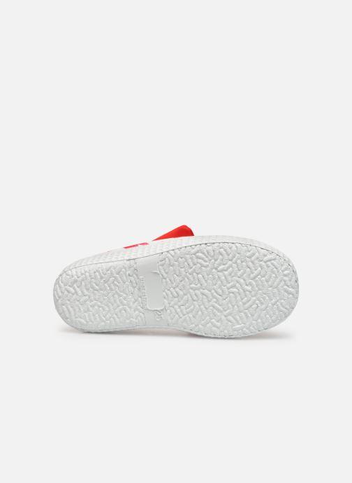 Sandales et nu-pieds Archimède Julie New Chaussures Rouge vue haut