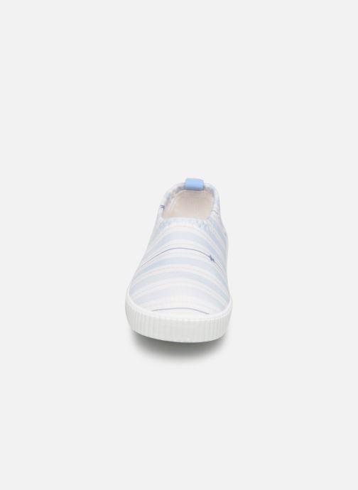 Sandales et nu-pieds Archimède Cocon Boy Shoes Bleu vue portées chaussures