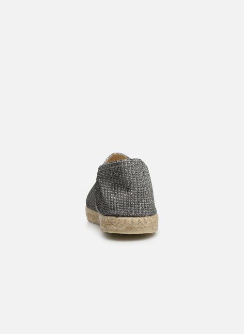 La maison de l'espadrille Espadrille Métalisée (Zilver) - Espadrilles  Zilver (Acier) - schoenen online kopen