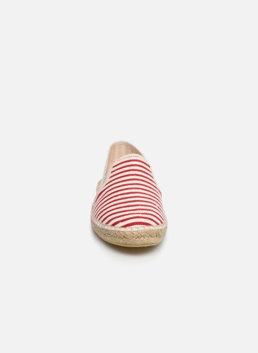 Espadrilles La maison de l'espadrille Espadrille 1097 Rouge vue portées chaussures