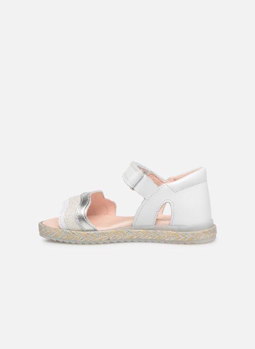 Sandales et nu-pieds Pablosky Alessandra Blanc vue face