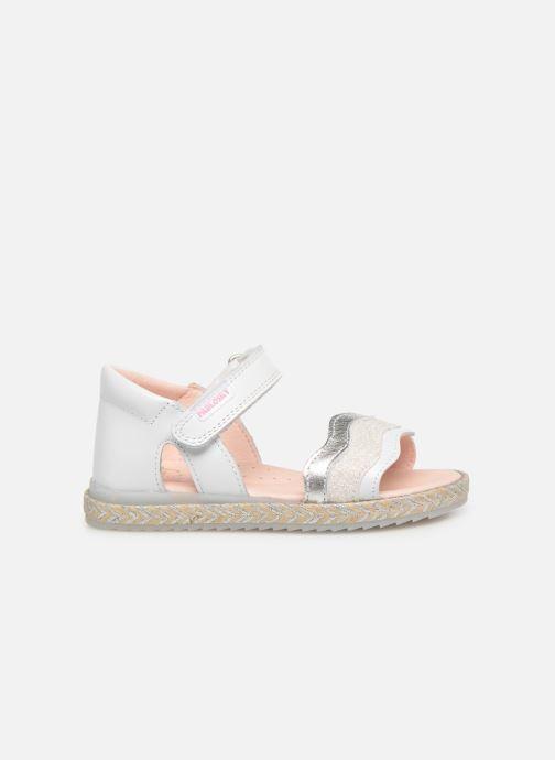 Sandales et nu-pieds Pablosky Alessandra Blanc vue derrière