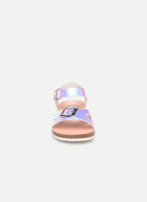 Sandales et nu-pieds Pablosky Carmen Multicolore vue portées chaussures