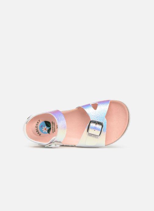 Sandales et nu-pieds Pablosky Carmen Multicolore vue gauche