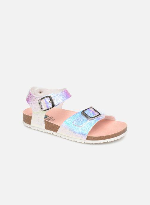 Sandales et nu-pieds Pablosky Carmen Multicolore vue détail/paire