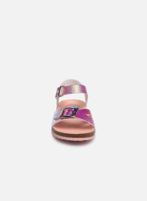 Sandales et nu-pieds Pablosky Carmen Or et bronze vue portées chaussures