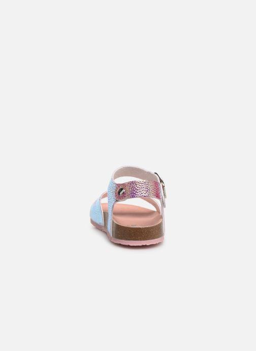 Sandales et nu-pieds Pablosky Carmen Or et bronze vue droite