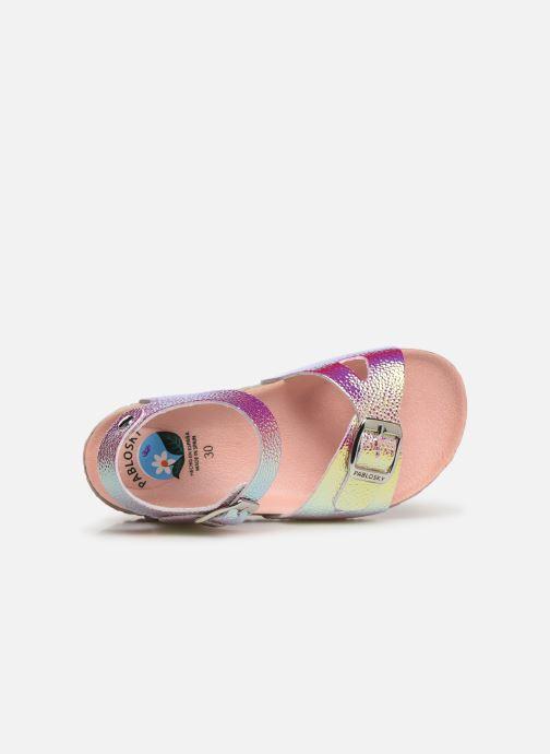 Sandales et nu-pieds Pablosky Carmen Or et bronze vue gauche