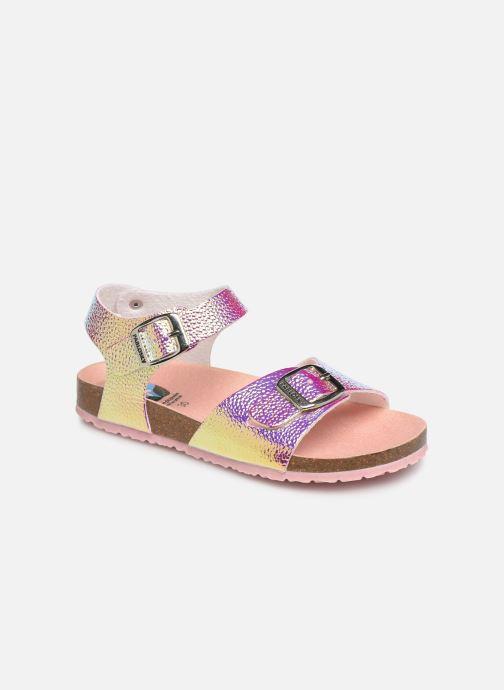 Sandales et nu-pieds Pablosky Carmen Or et bronze vue détail/paire