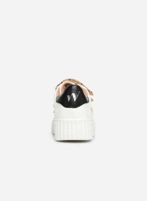 Sneakers Vanessa Wu BK1894 Vit Bild från höger sidan