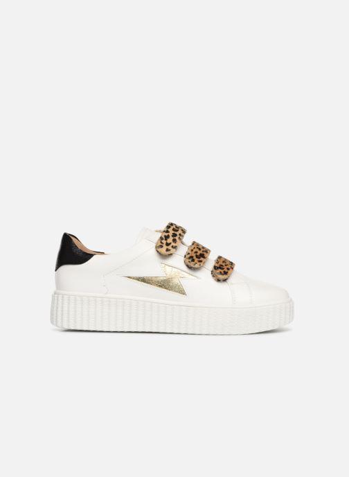 Sneakers Vanessa Wu BK1894 Vit bild från baksidan