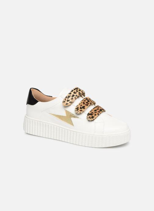 Sneakers Vanessa Wu BK1894 Wit detail