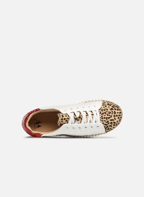 Sneakers Vanessa Wu BK1895 Wit links