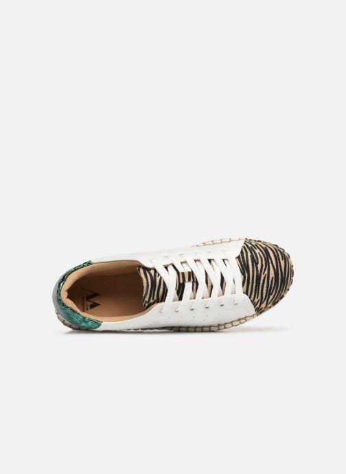 Sneakers Vanessa Wu BK1895 Bianco immagine sinistra