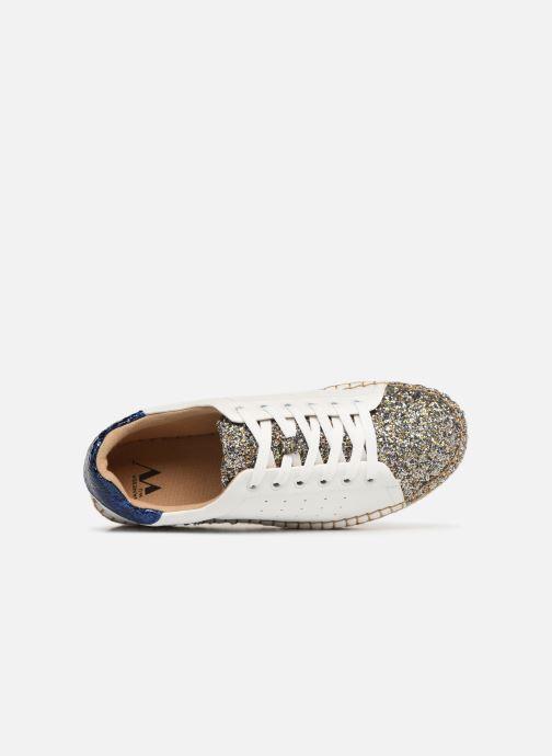 Sneakers Vanessa Wu BK1895 Wit links