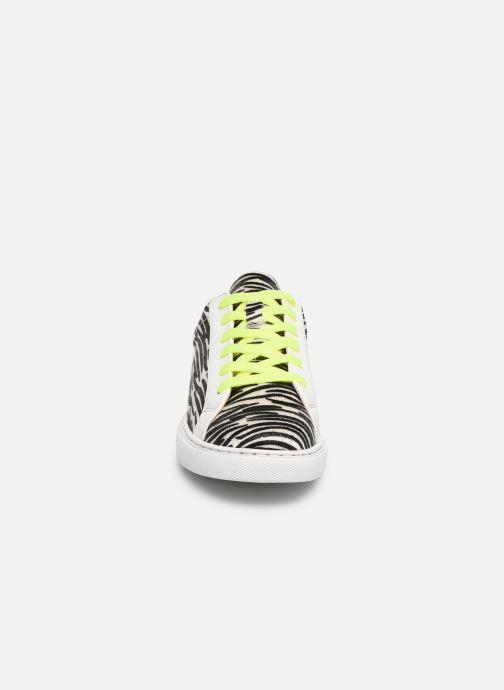 Baskets Vanessa Wu BK1965 Gris vue portées chaussures