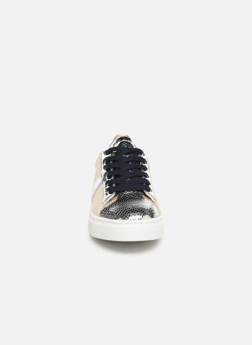 Baskets Vanessa Wu BK1967 Argent vue portées chaussures