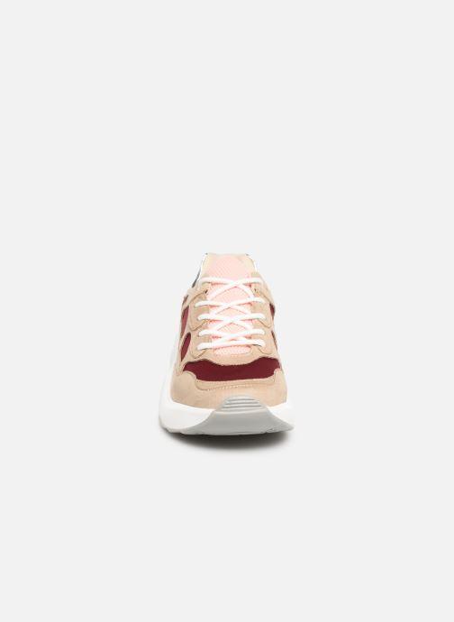 Baskets Vanessa Wu BK1968 Bordeaux vue portées chaussures