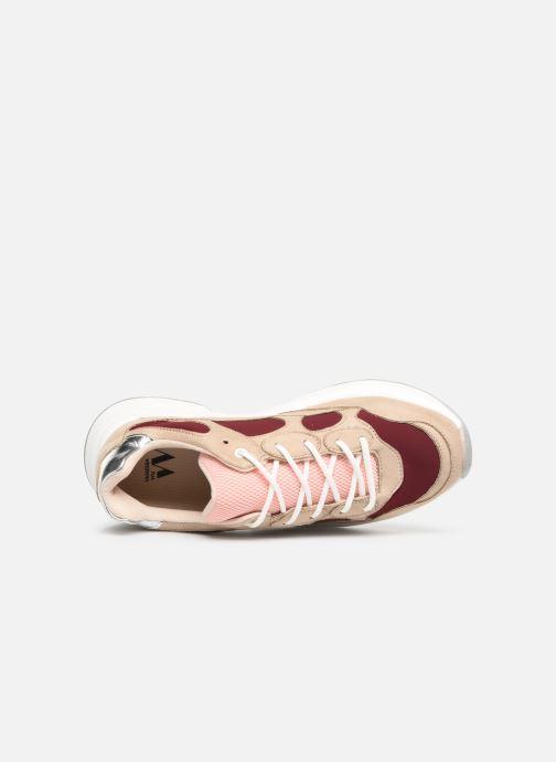 Sneakers Vanessa Wu BK1968 Bordeaux links