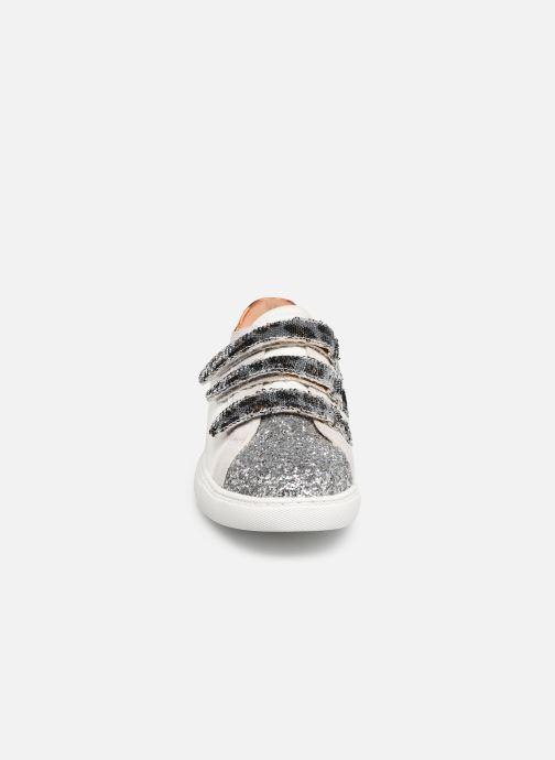 Baskets Vanessa Wu BK1977 Blanc vue portées chaussures