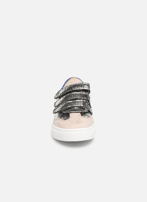Baskets Vanessa Wu BK1978 Argent vue portées chaussures