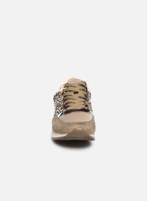 Baskets Vanessa Wu BK1990 Vert vue portées chaussures