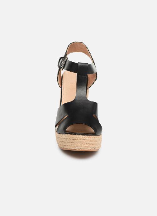 Espadrilles Vanessa Wu SD1270 Noir vue portées chaussures