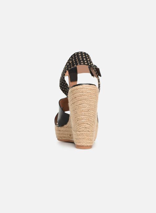 Scarpe di corda Vanessa Wu SD1270 Nero immagine destra