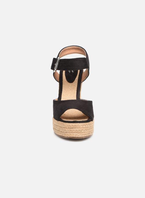 Espadrilles Vanessa Wu SD1376 Noir vue portées chaussures