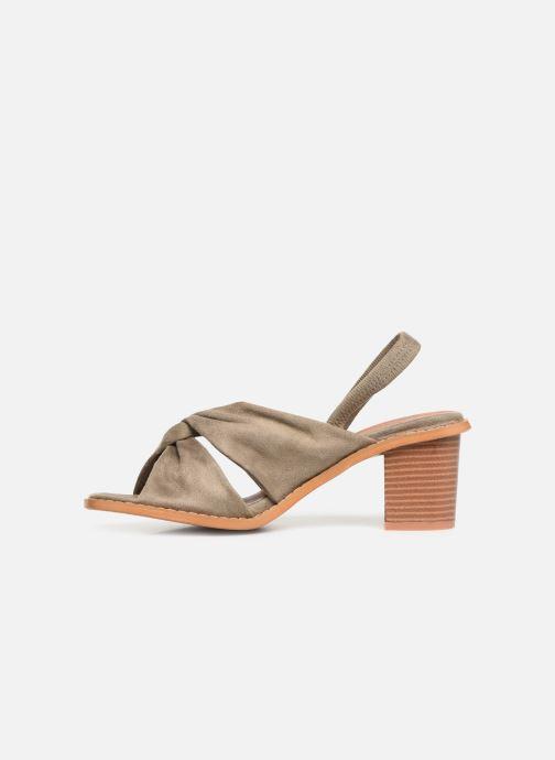 Sandales et nu-pieds Vanessa Wu SD1700 Vert vue face